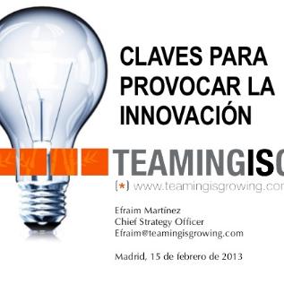 arpm claves para la innovacion
