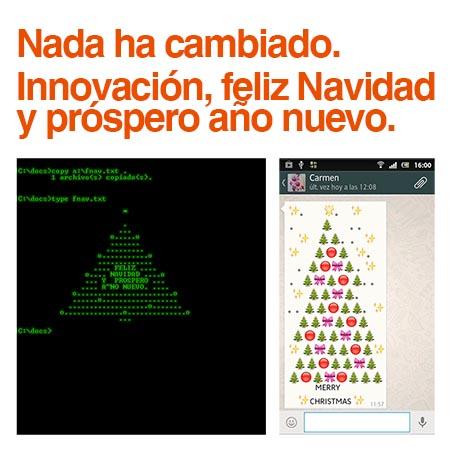 innovación y feliz año nuevo